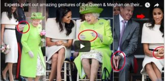 Experts point out amazing gestures of the Queen Meghan on their first joint engagement
