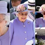 Going going... gone The Queen seems to be a fan of clear eyeglasses that convert into sunglasses when activated by the suns UV rays