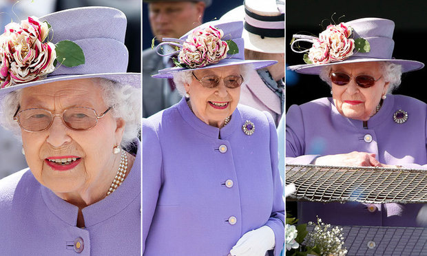 The surprising thing youve never noticed about the Queens sunglasses Photo C GETTY