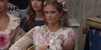 Her mum Princess Madeleine wasn't impressed. Photo Instagram theirroyalhighnesses