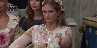 Her mum Princess Madeleine wasn't impressed. Photo Instagram theirroyalhighnesses