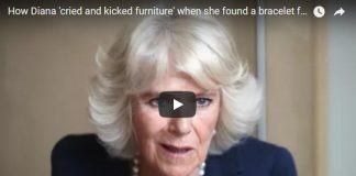 How Diana cried and kicked furniture when she found a bracelet for Camilla