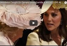 Kate Middleton Caught On Camera Gives Camilla A WICKED EYE At Royal Wedding