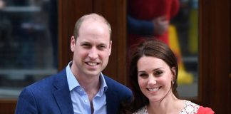 Kate Middleton Prince Louis was born less than a month ago on 23 April Photo C GETTY