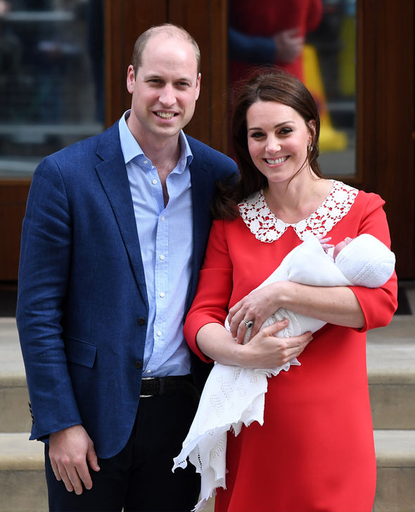 Kate Middleton Prince Louis was born less than a month ago on 23 April Photo (C) GETTY
