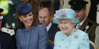 Kate Middleton had her first solo engagement with the Queen in 2012 Photo C GETTY