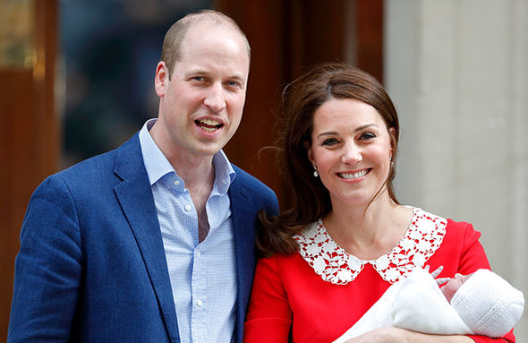 Kate Middleton is said to be spending quality time with Prince Louis Photo (C) GETTY