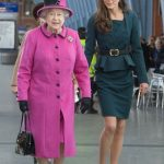 Kate Middleton joined the Queen for their first public outing together in March 2012 during the Diamond Jubilee tour. Photo Getty Images