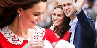 Kate Middleton maternity leave Royal fans will see the Duchess and Prince Louis at his christening Photo (C) GETTY