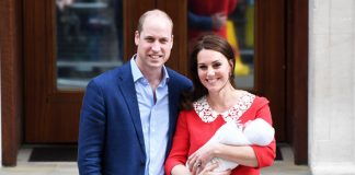 Kate and Prince William are set to offer a vital compromise on the day of Prince Louis' christening Photo (C) GETTY