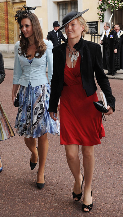 Kate attended the wedding of Lady Rose Windsor and George Gilman in 2008 Photo (C) PA