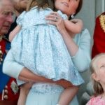 Kate was quick to jump in and console her. Photo Getty