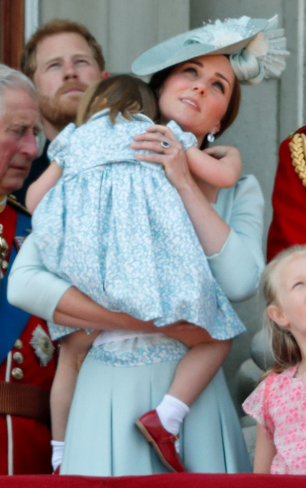 Prince George and Princess Charlotte undoubtedly stole the hearts of the nation at Trooping the Colour 2018