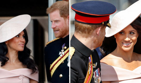 Meghan Markle admitted she was suffering from nerves to Prince Harry Photo (C) GETTY IMAGES