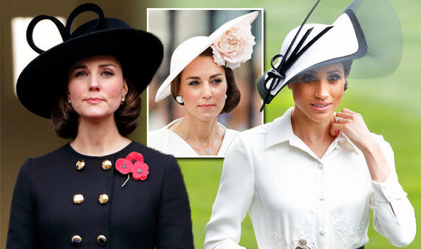 Meghan Markle and Kate Middleton Ascot hats - what do they reveal about the duchesses Photo (C) GETTY