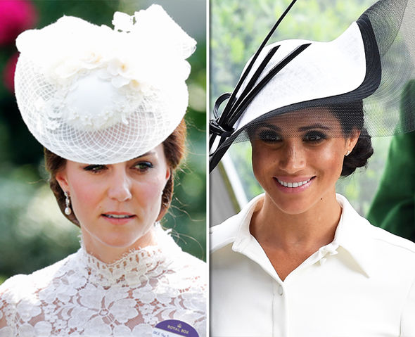 Meghan Markle and Kate Middleton Duchess of Sussex attended Ascot yesterday Photo (C) GETTY