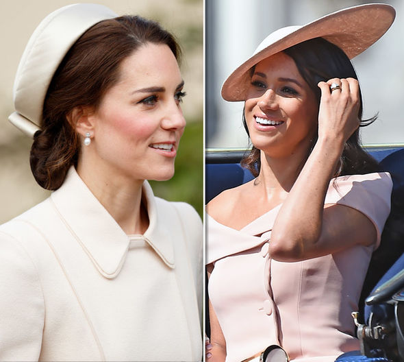 Meghan Markle and Kate Middleton Expert claims Meghan is not as confident as Kate PhoMeghan Markle and Kate Middleton Expert claims Meghan is not as confident as Kate Photo (C) GETTYto (C) GETTY