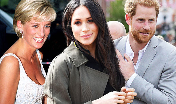 Meghan Markle and Prince Harry's first tour could pay tribute to Princess Diana Photo (C) GETTY