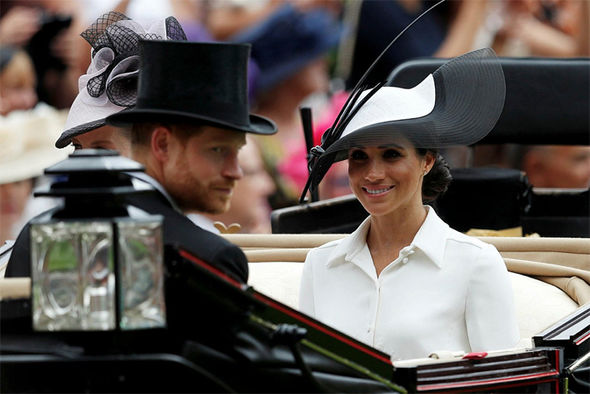 Meghan Markle made her Royal Ascot debut on Day 1 with the Queen Photo (CMeghan Markle made her Royal Ascot debut on Day 1 with the Queen Photo (C) GETTY) GETTY