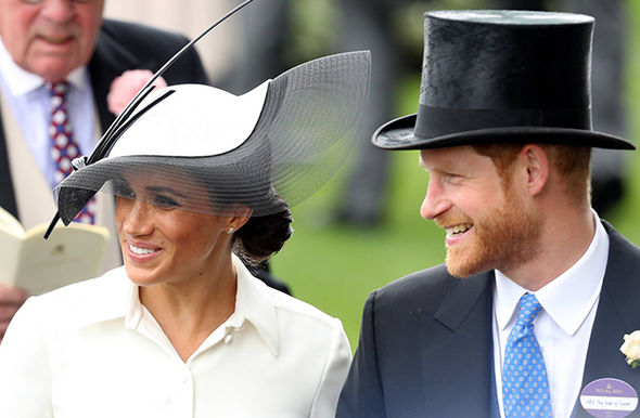 Meghan Markle made her Royal Ascot debut today Photo (C) GETTY