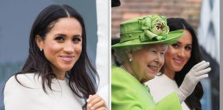 Meghan Markle received a special pair of earrings from the Queen Photo C GETTY PA 1
