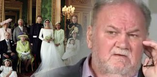 Meghan Markles father Thomas Markle believes the Royal family may have frozen him out Photo C GETTY ITV
