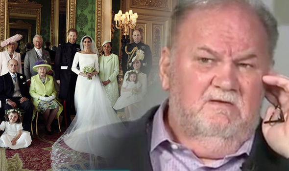 Meghan Markle's father Thomas Markle believes the Royal family may have frozen him out Photo (C) GETTY, ITV