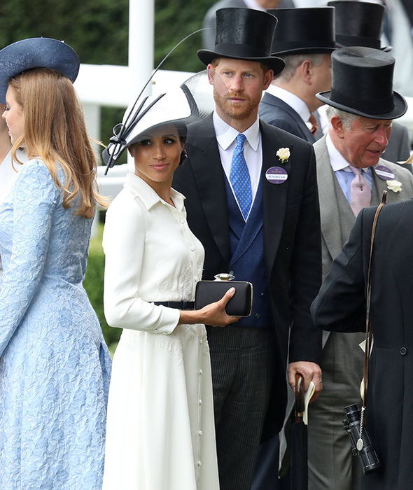 Meghan and Harry make their Royal Ascot debut PhMeghan and Harry make their Royal Ascot debut Photo (C) GETTYoto (C) GETTY