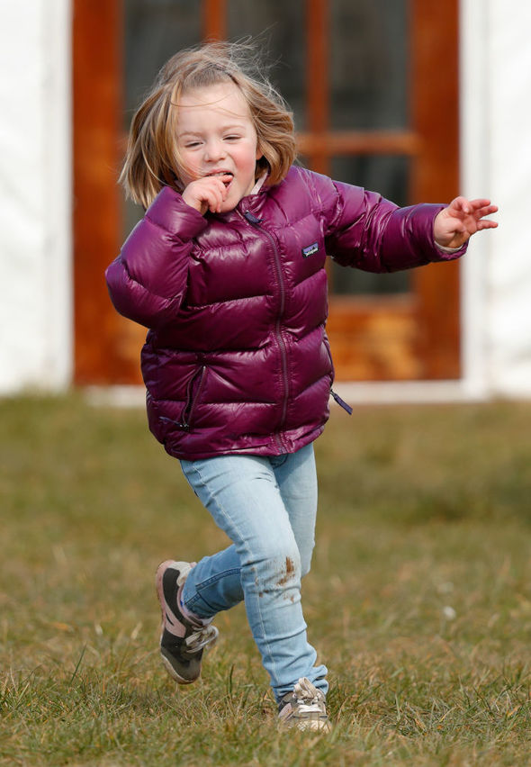 Mia Tindall now has a baby sister Photo (C) GETTY