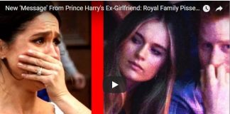 New 'Message' From Prince Harrys Ex Girlfriend