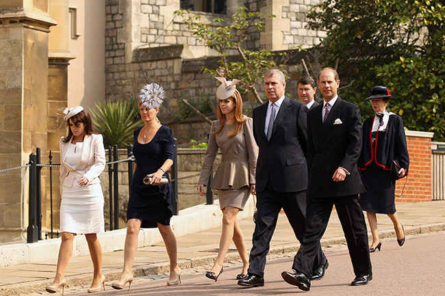 Prince Edward and his wife Sophie are moving to St James's Palace Photo (C) GETTY