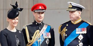 Prince Edward and wife Sophie moving out of Buckingham Palace Photo C GETTY