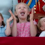 Prince George, Princess Charlotte and their cousin Savannah Phillips stole the show at this year's Trooping the ColPrince George, Princess Charlotte and their cousin Savannah Phillips stole the show at this year's Trooping the Colour. Photo Gettyur. Photo Getty