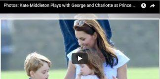 Prince George and Princess Charlotte Elizabeth II