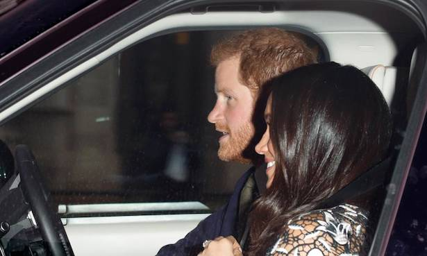 Prince Harry and Meghan Markle are back in London after their honeymoon Photo (C) GETTY