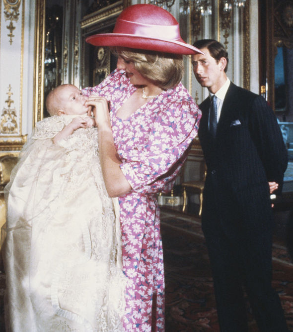 Prince Louis christening The Royal Family use the Lily Font for all their christenings Photo (C) GETTY