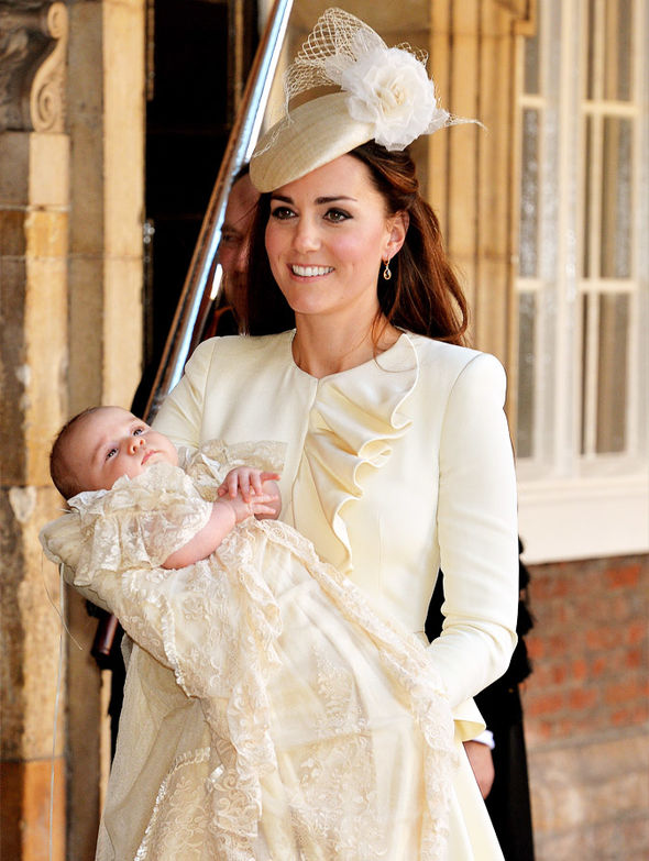 Prince Louis christening The service will take place at St James's Palace in the Chapel Royal Photo (C) GETTY