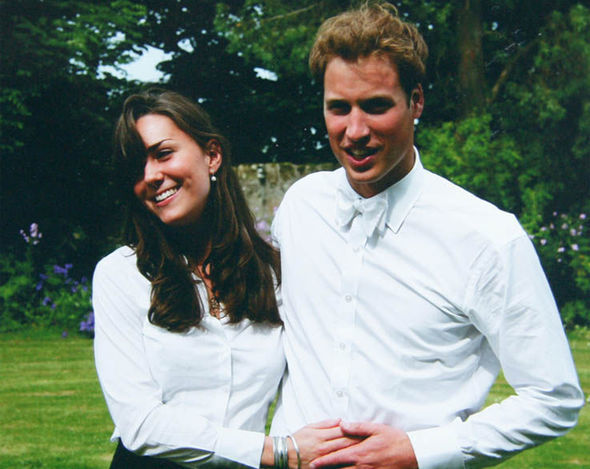 Prince William birthday A young William met a then Kate Middleton at university Photo (C) MIDDLETON FAMILY