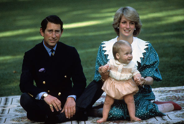 Prince William birthday The Duke is the first child of Prince Charles and the late Princess Diana Photo (C) GETTY