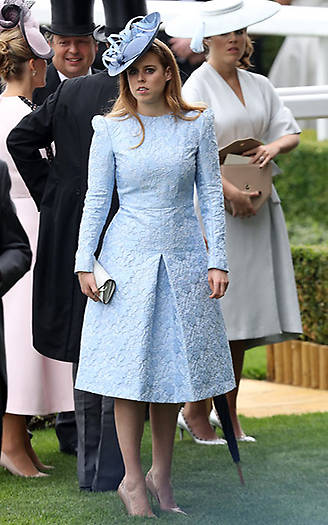 Princess Beatrice, 29, is a regular at the event and never fails to look impeccably elegant with her choice of attire Photo (C) Getty Images