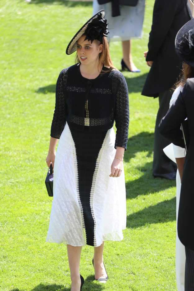 Princess Beatrice of York also attended Royal Ascot [Getty]