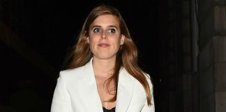 Princess Beatrice shows off legs in leather mini skirt and THIS Zara staple. Photo Getty