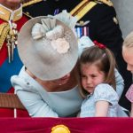 Princess Charlotte took a tumble during the Trooping the Colour Photo Getty ImagesPrincess Charlotte took a tumble during the Trooping the Colour Photo Getty Images