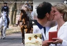 Princess Diana her unseen photo album