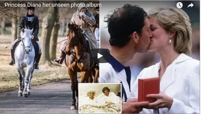 Princess Diana her unseen photo album