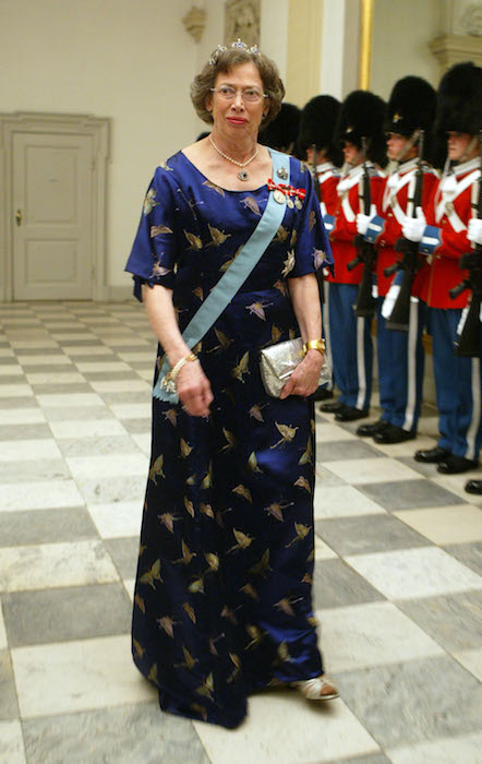 COPENHAGEN, DENMARK - MAY 11: Princess Elisabeth, cousin of Queen Margrethe II of Denmark, attends a celebratory dinner at Christiansborg Palace on May 11, 2004 in honor of the upcoming wedding of Crown Prince Frederik to Miss Mary Elizabeth Donaldson on May 14th in Copenhagen, Denmark. (Photo by Sean Gallup/Getty Images)