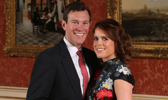 Princess Eugenie Her and Jack Brooksbank announced their engagement earlier this year Photo (C) GETTY