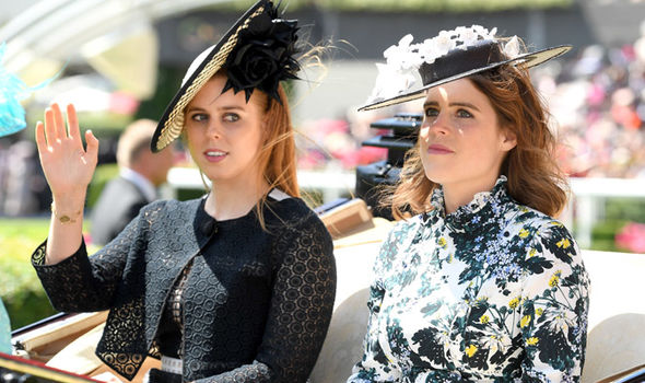 Princess Eugenie Her sister Beatrice is also influenced by mother Sarah Ferguson Photo (C) GETTY