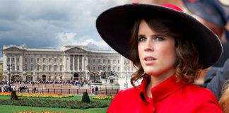 Princess Eugenie Prince Andrew daughter's Instagram reveals private part of Buckingham Palace Photo C GETTY