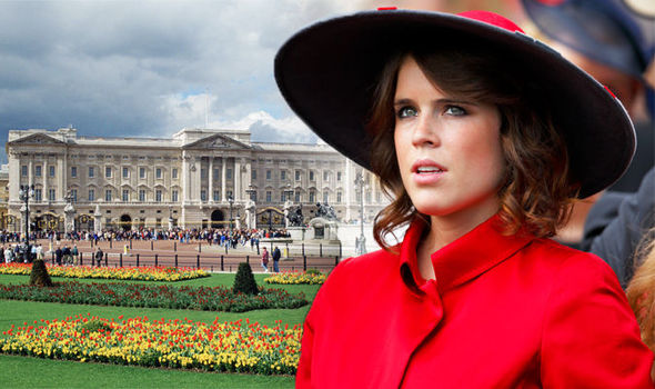 Princess Eugenie Prince Andrew daughter's Instagram reveals private part of Buckingham Palace Photo (C) GETTY
